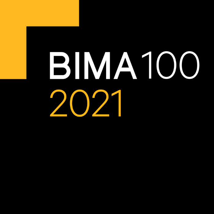 Giant named Tech Trailblazers at the 2021 BIMA100 awards