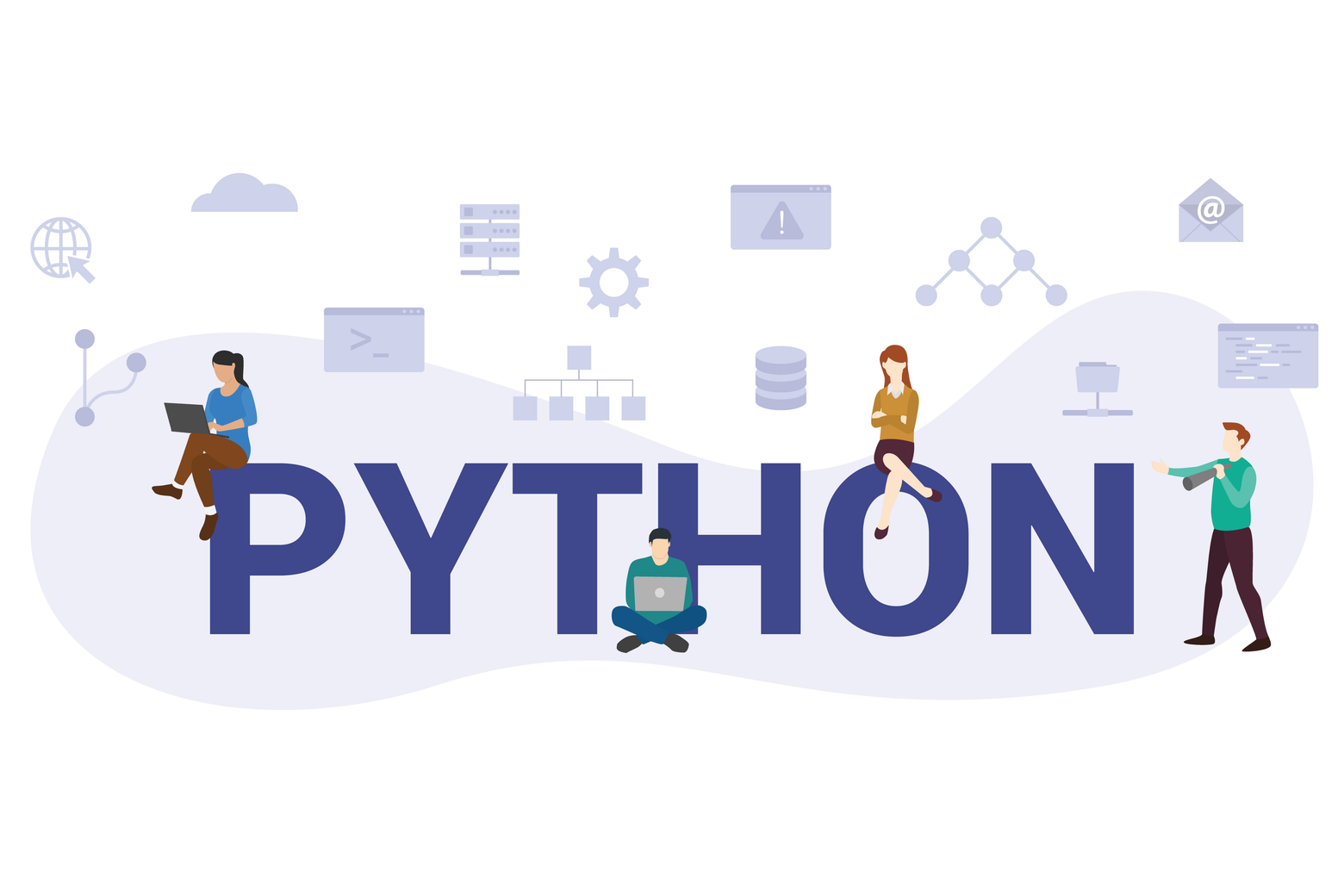 Python-Django is ideal for charity sites